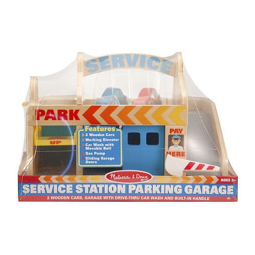 Service Station Parking Garage