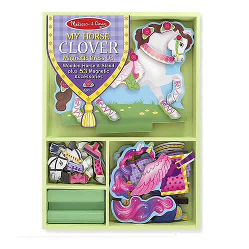 My Horse Clover Magnetic Dress-Up