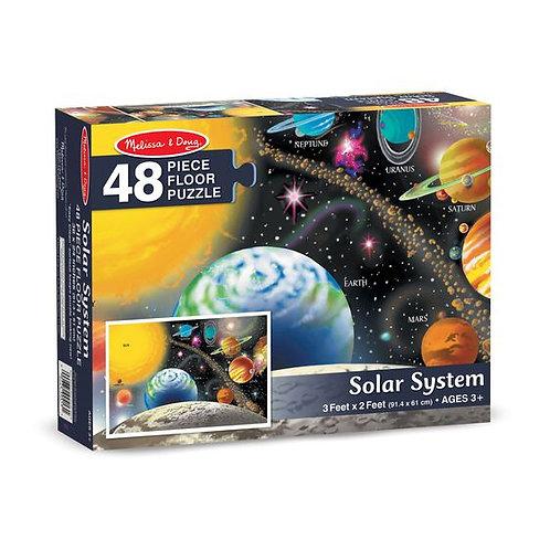 Floor Puzzle - Solar System (48pc)