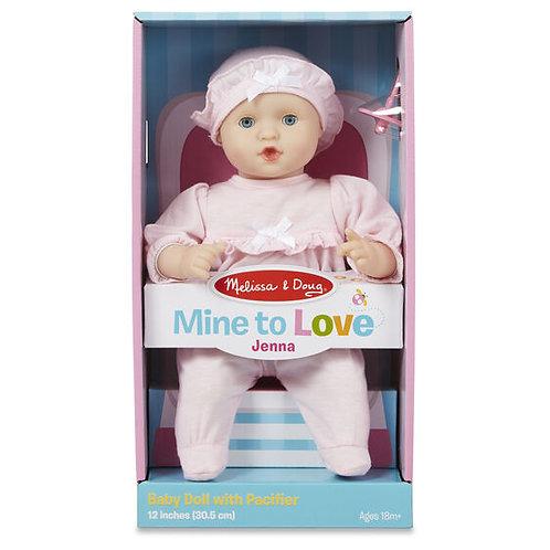 """Jenna 12"""" Doll"""