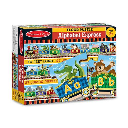 Floor Puzzle - Alphabet Express Train (20pc)