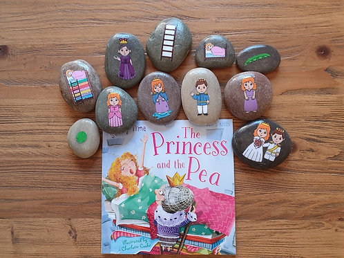 Story Stone Gift Set - The Princess and the Pea