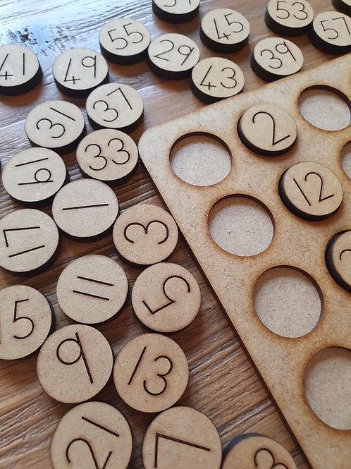 Hundred Number Board
