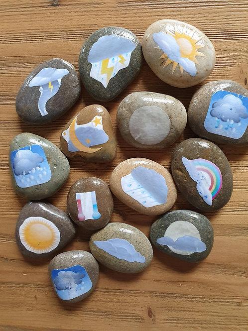 Story Stones - Weather (14pc)