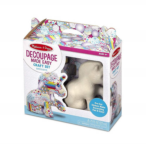 Decoupage - Unicorn