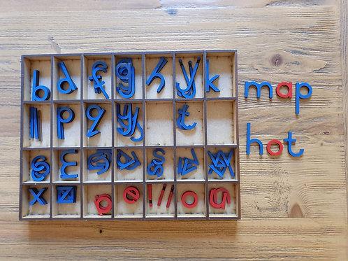 Moveable Alphabet - Montessori
