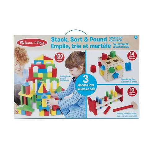 Stack, Sort and Pound Play Set