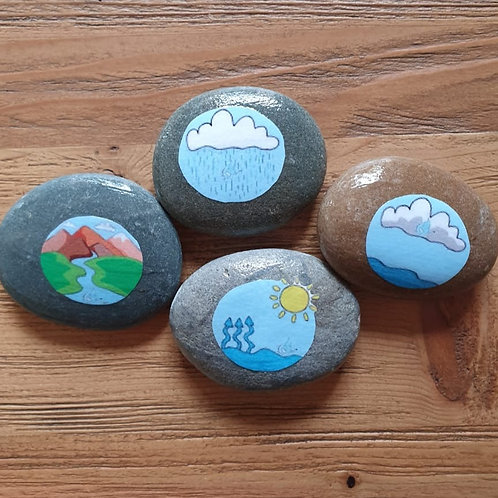 Story Stones - Life Cycle Water