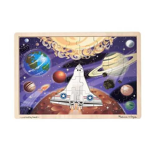 Space Voyage Wooden Jigsaw Puzzle (48pc)