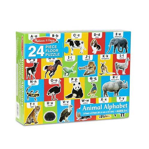 Floor Puzzle - Animal Alphabet (24pc)