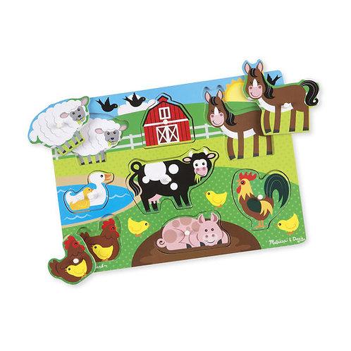 Farm Peg Puzzle (New Style)