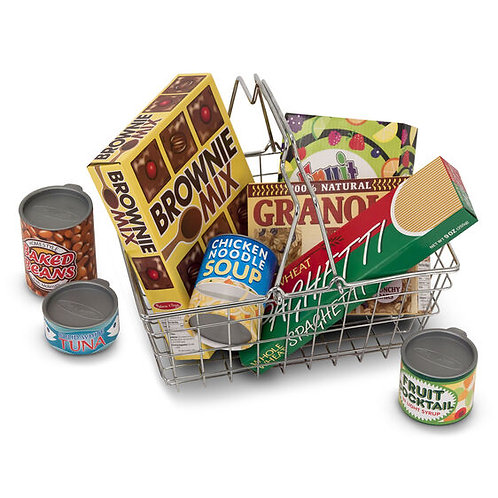 Grocery Basket with Playfood
