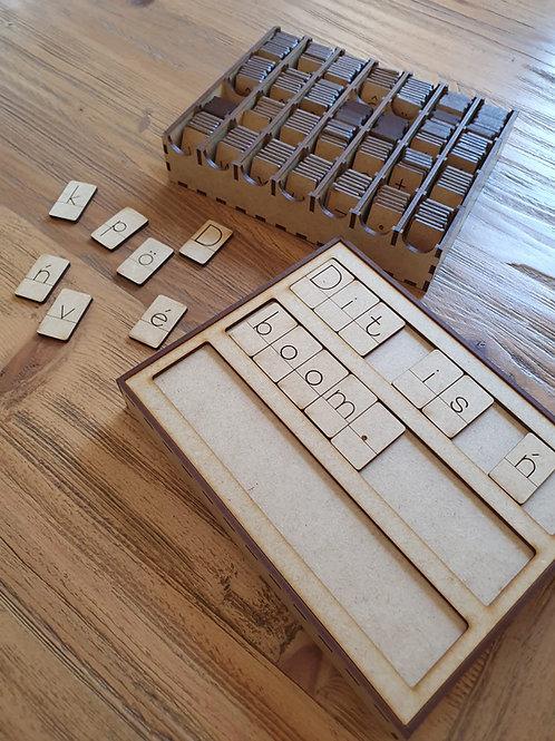 Spelling Box - Afrikaans (Spel Boks)