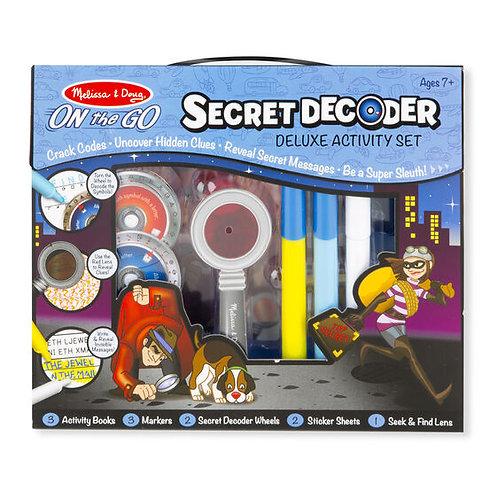 Secret Decoder - Deluxe Activity Set