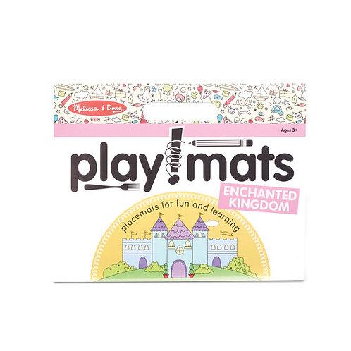 Play Mats - Fun Activity Pad - Enchanted Kingdom