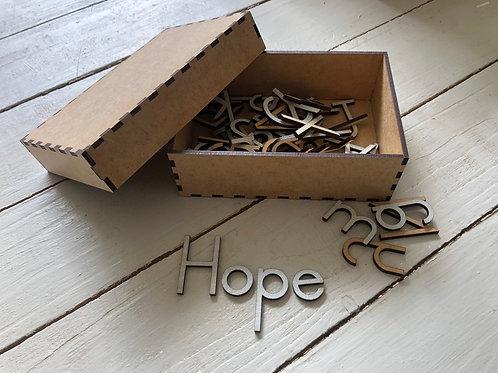 Sandpaper Box