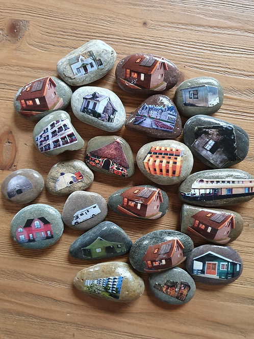 Story Stones - Homes (22pc)