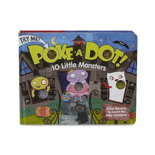 Poke-A-Dot: 10 Little Monsters