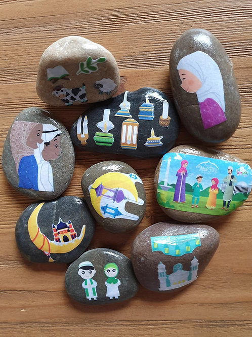 Story Stones - Eid (9pc)
