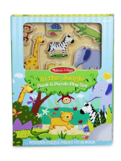 Book and Puzzle Play Set - In the Jungle