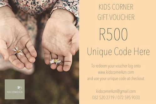 Gift Voucher - R500
