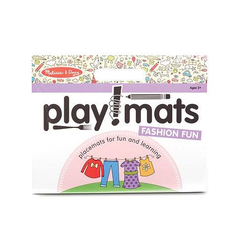 Play Mats - Fun Activity Pad - Fashion Fun
