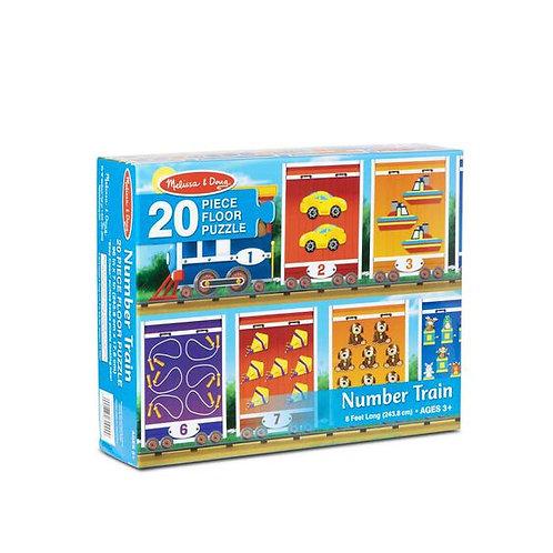 Floor Puzzle - Number Train (20pc)