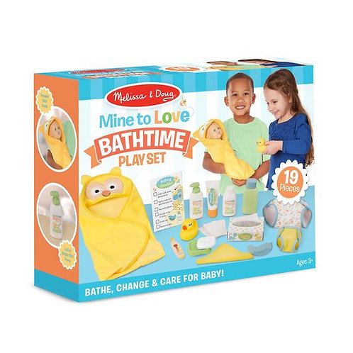 Changing and Bathtime Play Set