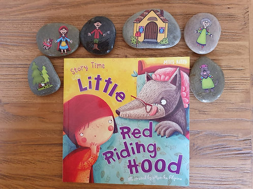 Story Stones Gift Set - Little Red Riding Hood (6pc)