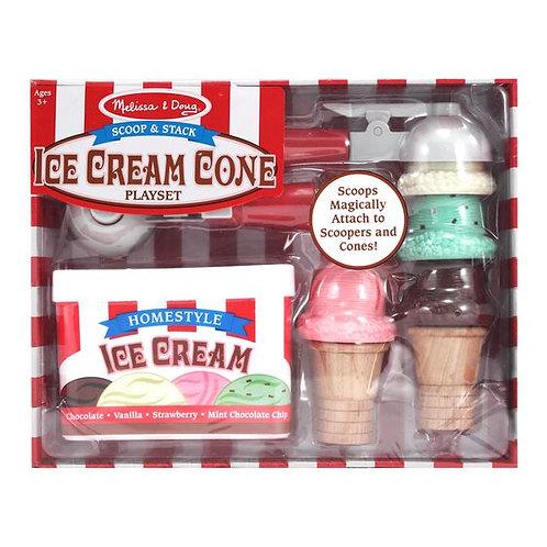 Scoop and Stack Ice-Cream Cone Set