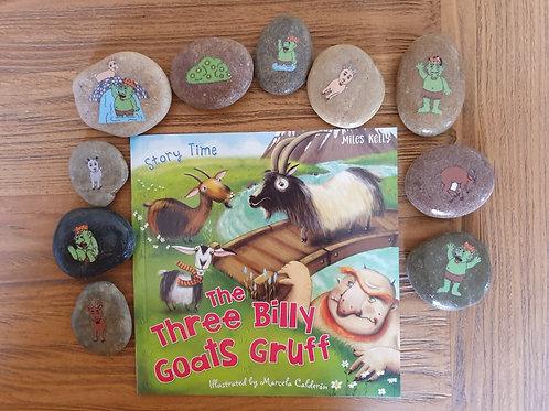 Story Stones Gift Set - Three Billy Goats Gruff (10pc)
