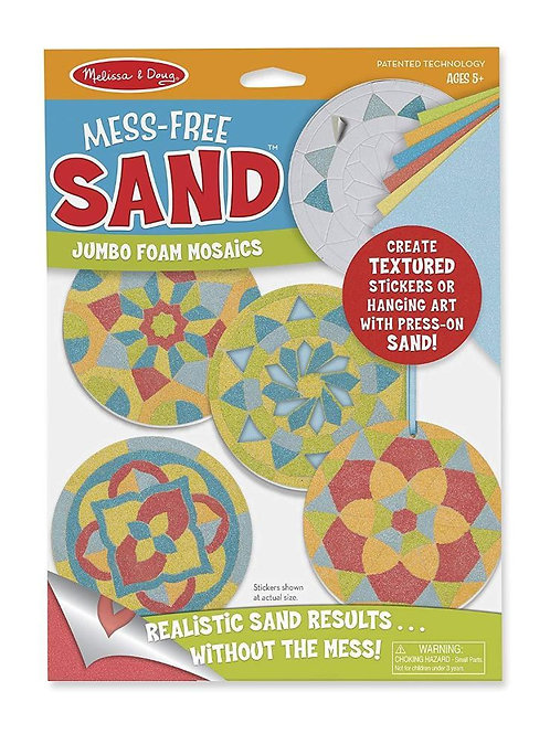 Mess Free Sand Stickers - Mosaics