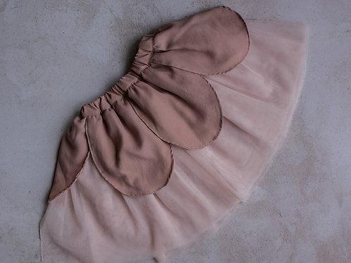 Fairy Skirt Petal - Dusty Pink