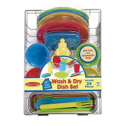 Wash and Dry Dish Set