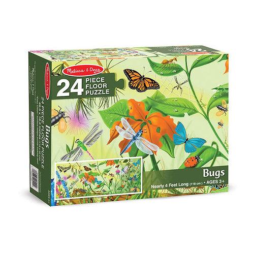 Floor Puzzle - Bugs (24pc)