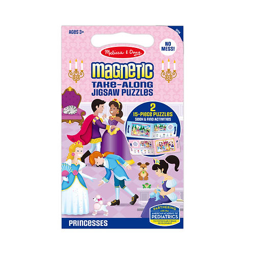 Take Along Magnetic Jigsaw Puzzle - Princesses
