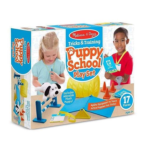 Tricks and Training Puppy School Play Set