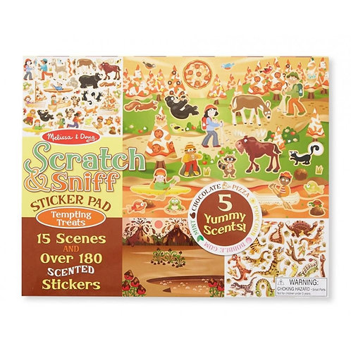 Scratch and Sniff - Tempting Treats