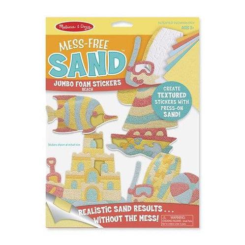Mess Free Sand Stickers - Beach