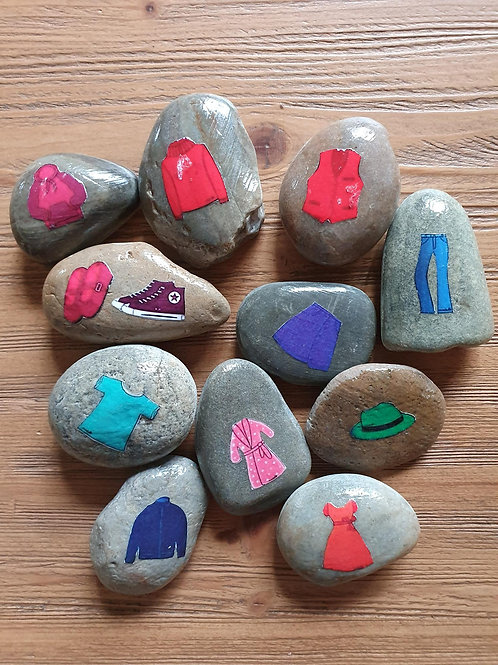 Story Stones - Clothes (11pc)