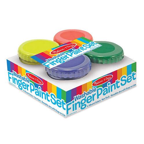 Finger Paint Set (4pc)