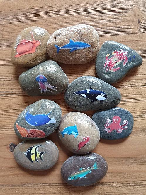 Story Stones - Ocean (10pc)