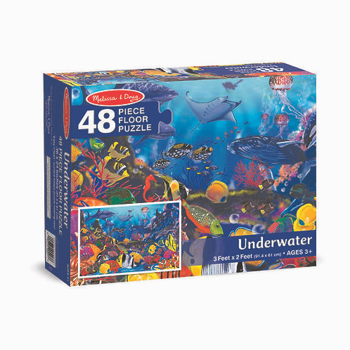 Floor Puzzle - Underwater (48pc)