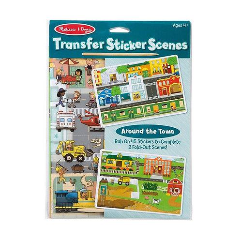 Transfer Sticker Set - Around the Town