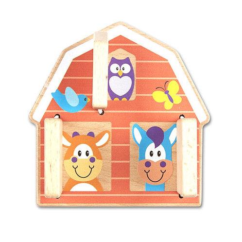 First Play Peek-a-Boo Farm