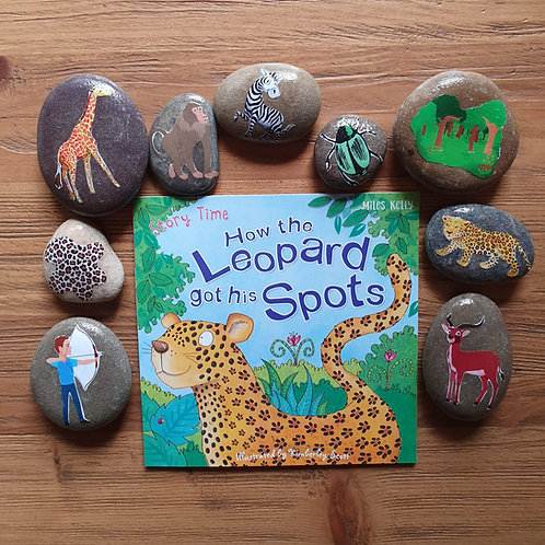 Story Stone Gift Set - How the Leopard got his Spots