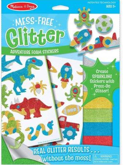 Mess Free Glitter - Adventure Foam Stickers