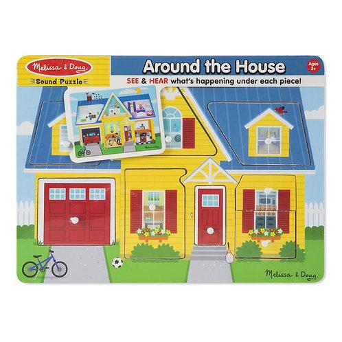 Around the House Sound Puzzle