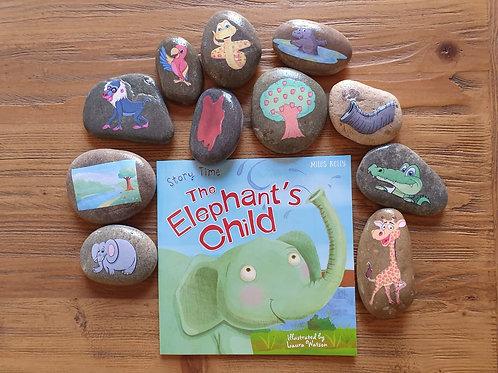Story Stone Gift Set - The Elephant's Child