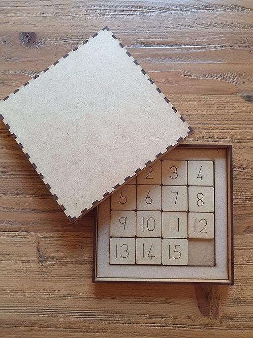 Slide Number Puzzle